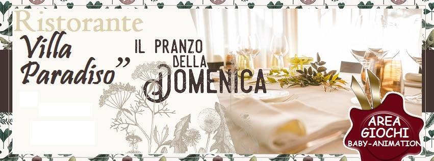 Villa Paradiso Pozzuoli - Domenica 26 Maggio a pranzo