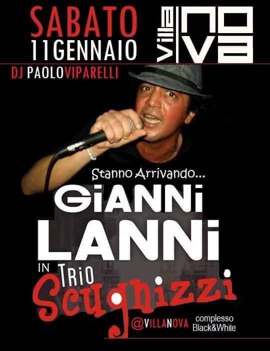 Villa Nova Pozzuoli - Sabato 11 Live show Gianni Lanni
