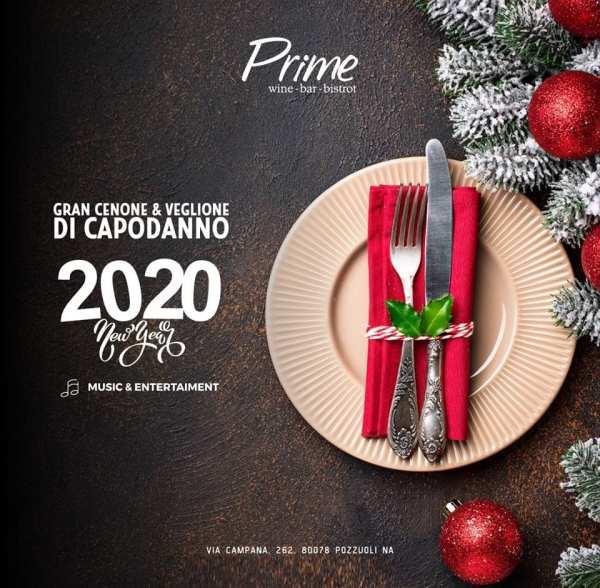 Prime Pozzuoli - Cenone capodanno 2020