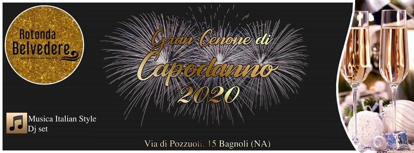 Rotonda Belvedere Napoli - Cenone di Capodanno Napoli 2020