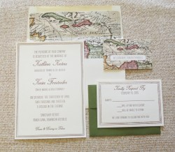 Soothing Flat Card Wedding Invitation Dominican Republic Wedding Invitations Destination Wedding Destination Wedding Invitations Passport Destination Wedding Invitations Bahamas