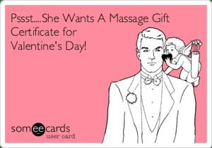 Valentine's Day Massage