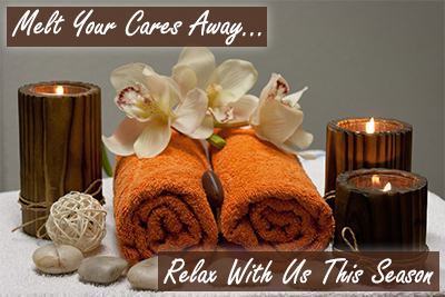Melt Your Cares Away... Relax With Us This Season - get a massage at Serenity Massage in Yakima