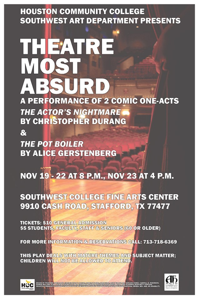 Theatre Most Absurd Poster