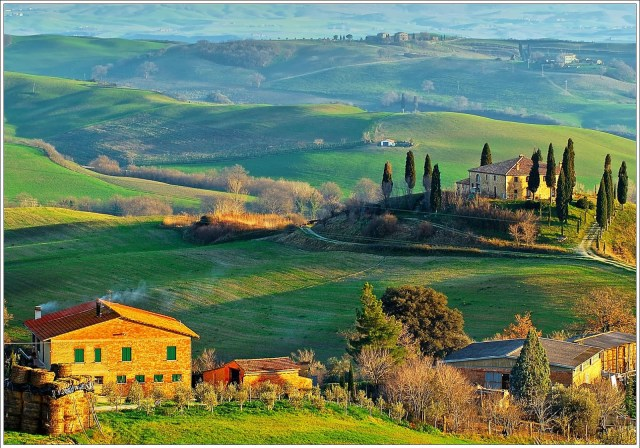 Lucca Tuscany Hills.