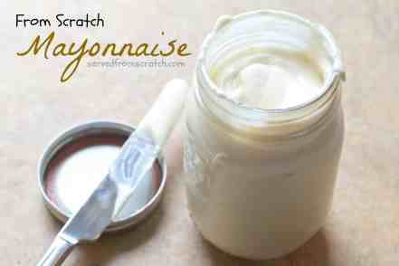 Making your own Mayonnaise is so much easier than you think!  You'll never go back to store bought mayo again!