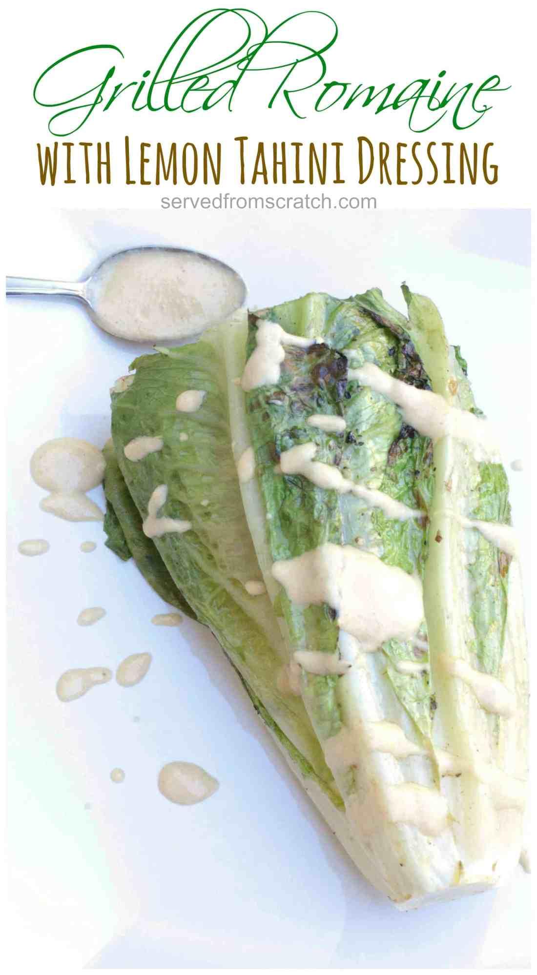grilled-romaine-with-lemon-tahini-dressing