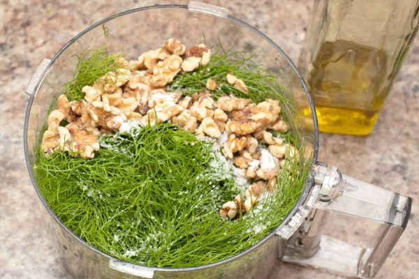 Fennel Pesto from Scratch