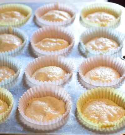 Boston Cream Pie made into adorable from scratch cupcakes!