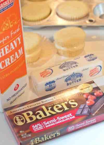 Boston Cream Pie Cupcakes from Scratch