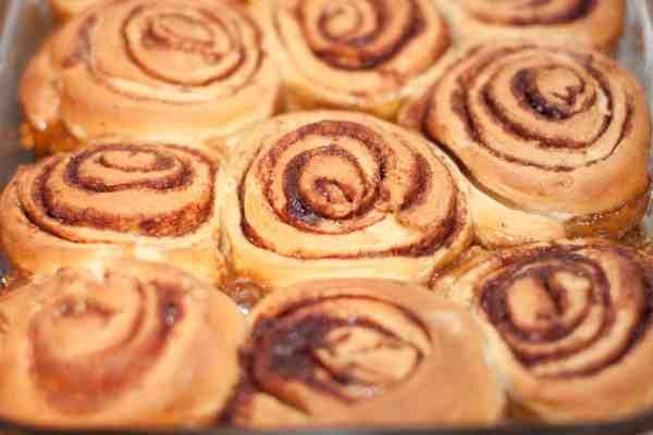 Sourdough Cinnamon Walnut Rolls from scratch!