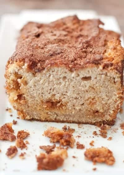 Butterscotch Snickerdoodle Bread
