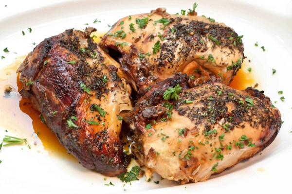 5 minutes of prep for a super easy weeknight Crock Pot Balsamic Chicken