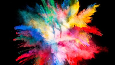Color Burst Wallpaper - [2560x1440]