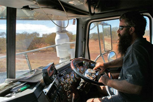 Alice Springs et barbecue improvisé