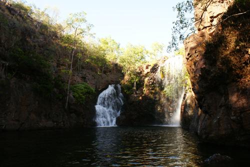 blog voyage australie australia whv backpacker waterfall fall chute litchfield