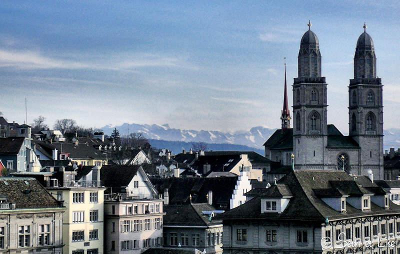 Un petit tour à Zurich