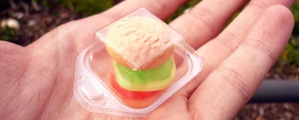 blog voyage australie espagne barcelone burger hamburger candy bonbon sandwish miniature