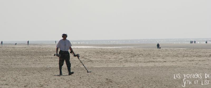 blog voyage touquet france chercheur metaux plage