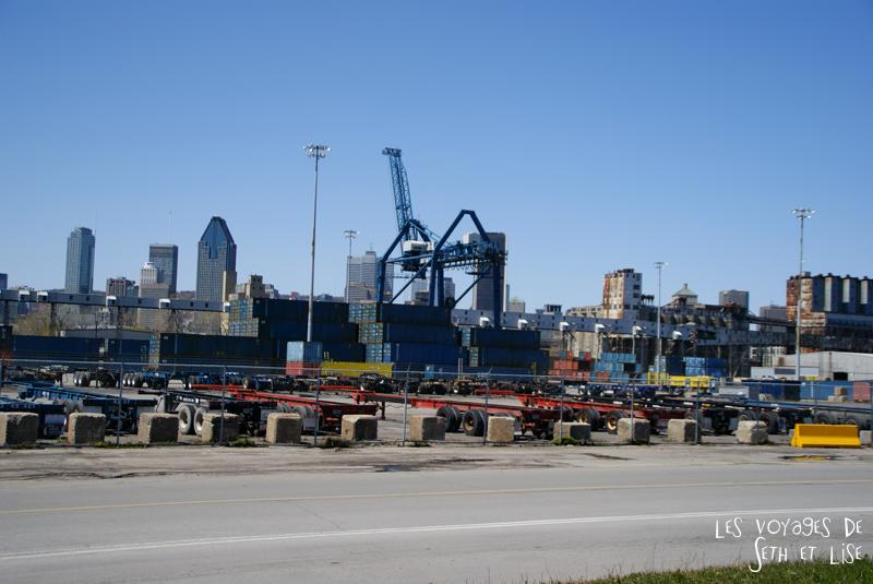 blog pvt canada montreal couple voyage port rouille vieux usine