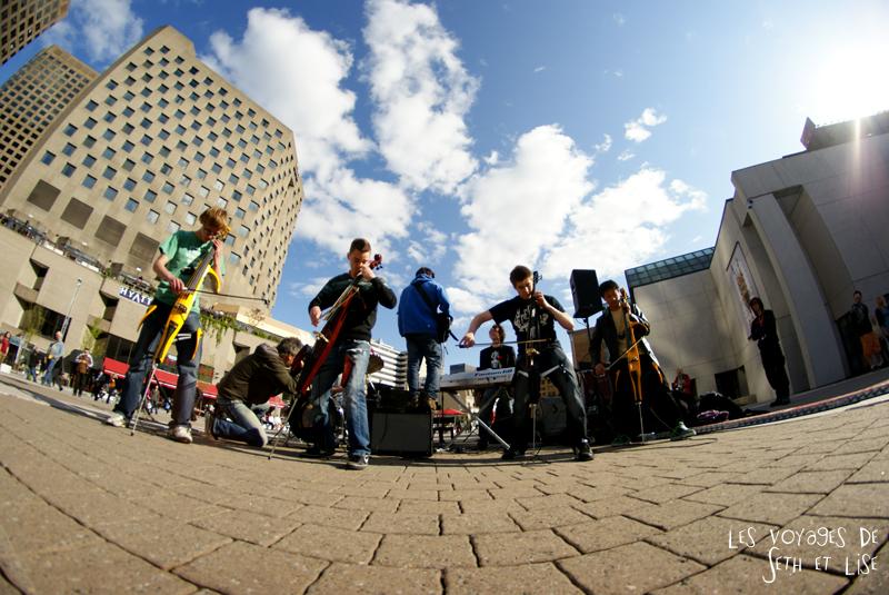 blog pvt canada voyage canada montreal voyage tour du monde fete artiste cello on fire music musique metal fisheye samyang 8mm