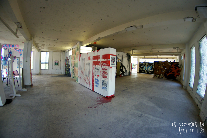 blog pvt canada montreal voyage espace frais peint piece tag art graffiti street fish eye