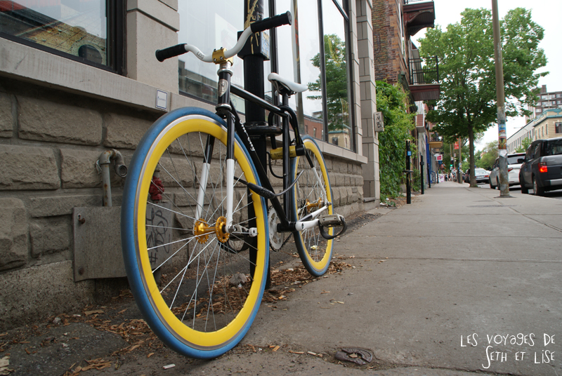 blog canada montreal voyage pvt insolite drole velo fixie hipster bike