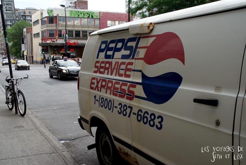 blog canada montreal pvt couple tour du monde voyage pepsi camion oldschool