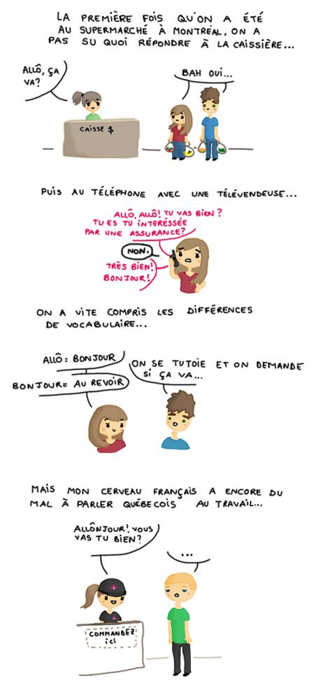 bd canada pvt montreal blog quebecois allo bonjour drole language insolite tutoiement