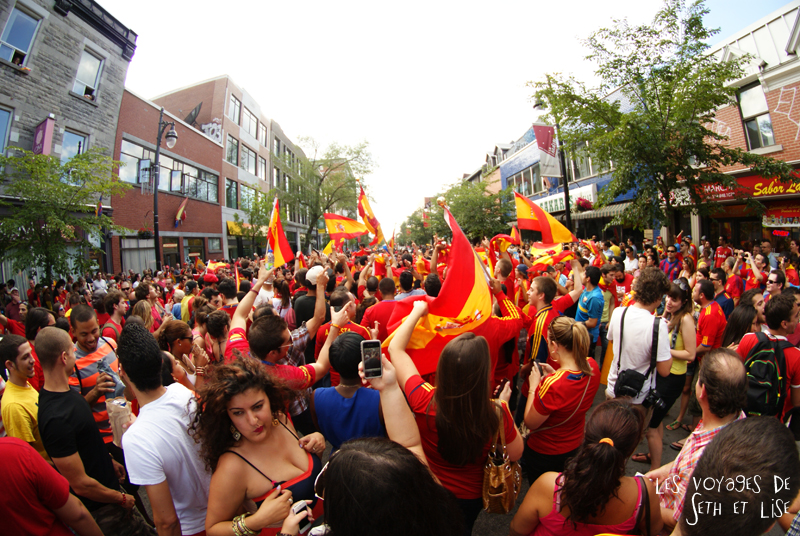blog canada voyage pvt whv montreal moving day demenagement photo insolite espagne spain euro2012