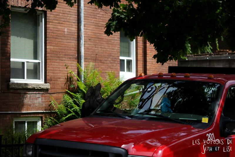 blog pvt canada whv toronto ontartio couple voyage travel tour du monde voiture sieste