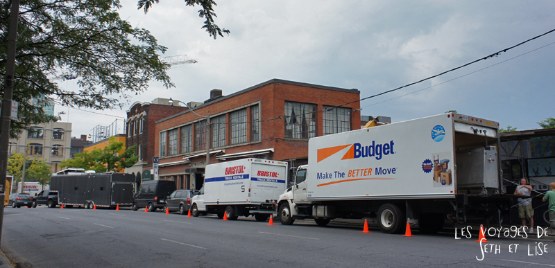 blog photo voyage canada toronto movie scene spoiler cinema truck