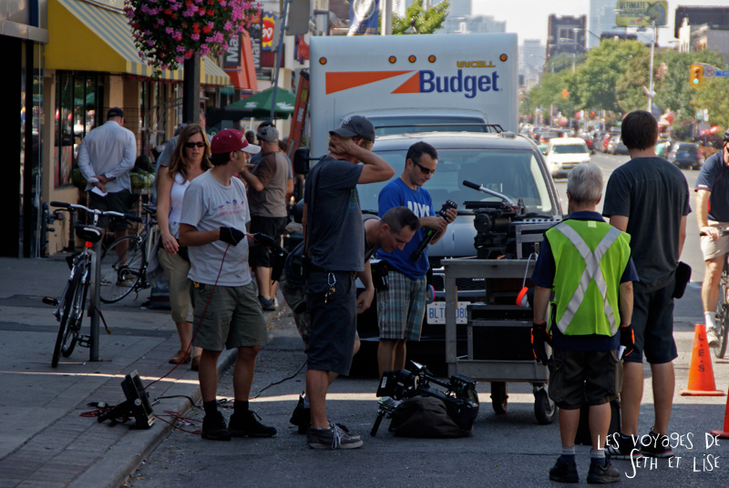 blog photo voyage canada toronto movie scene spoiler cinema camera crew