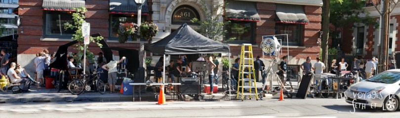 blog photo voyage canada toronto movie scene spoiler cinema set crew