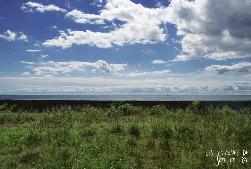 pvt canada toronto couple blog iles island ferry voyage tour du monde lac ontario infini