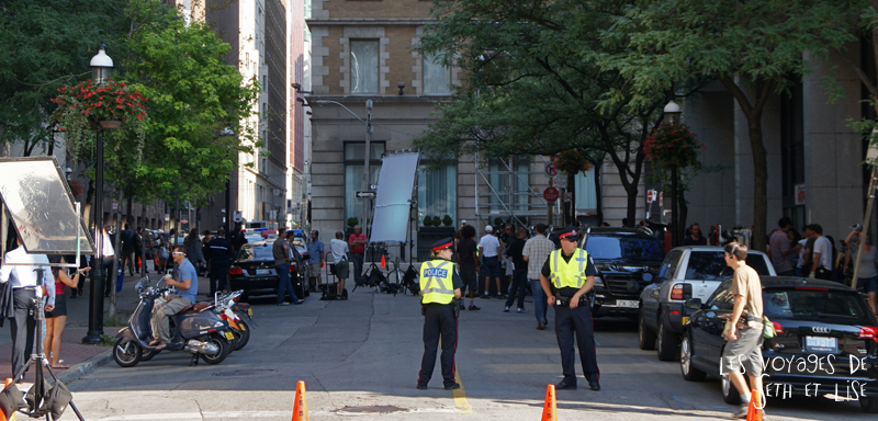 blog photo voyage canada toronto movie scene spoiler cinema police set