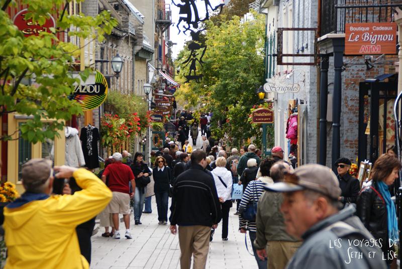blog photographie canada pvt pvtiste voyage couple tour du monde quebec city ville touriste vieux