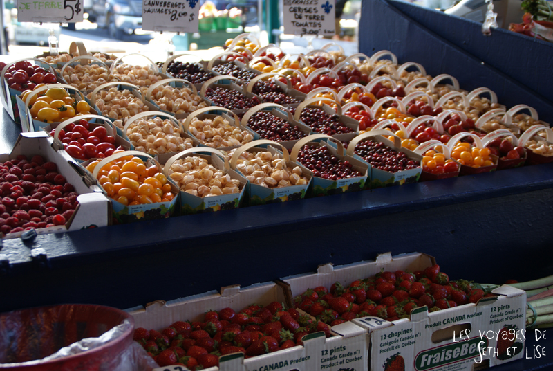 blog voyage canada photo montreal quebec humour jean talon market marche fruits vegetables legumes