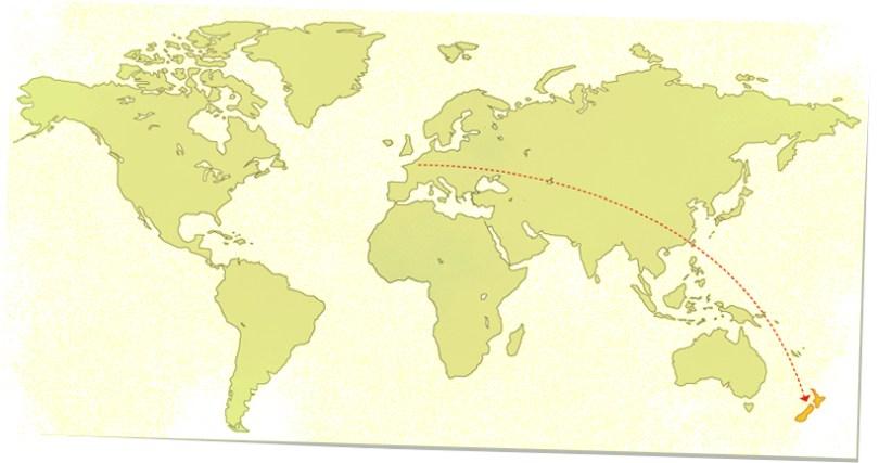 blog voyage pvt whv nz map carte