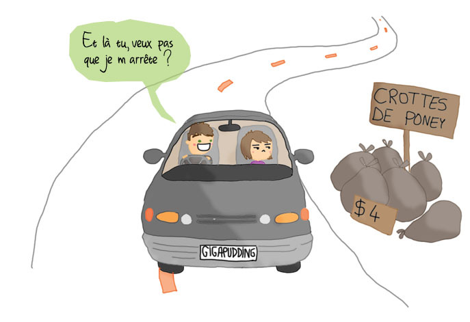Drive-in sur autoroute