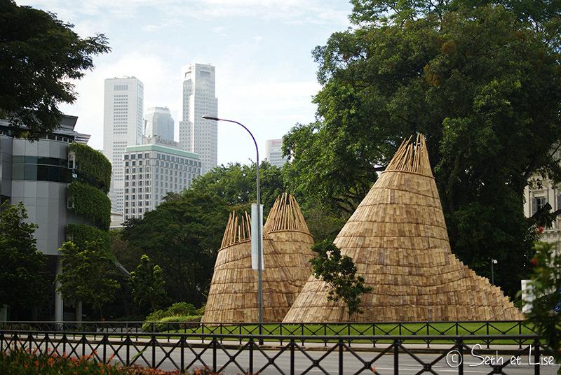 Singapour, artistique et colonial