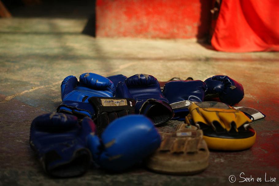 gant boxe