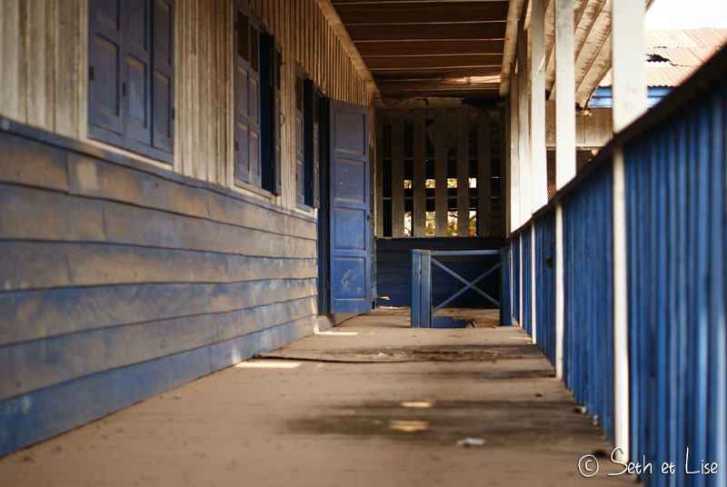 Urbex dans une école de Vientiane