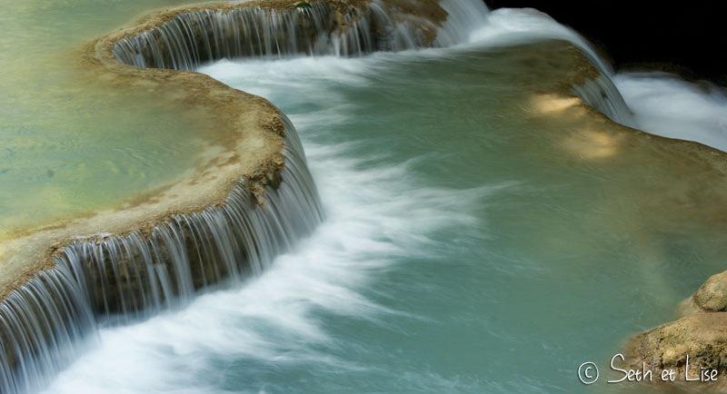 Les cascades de Kuang Si près de Luang Prabang