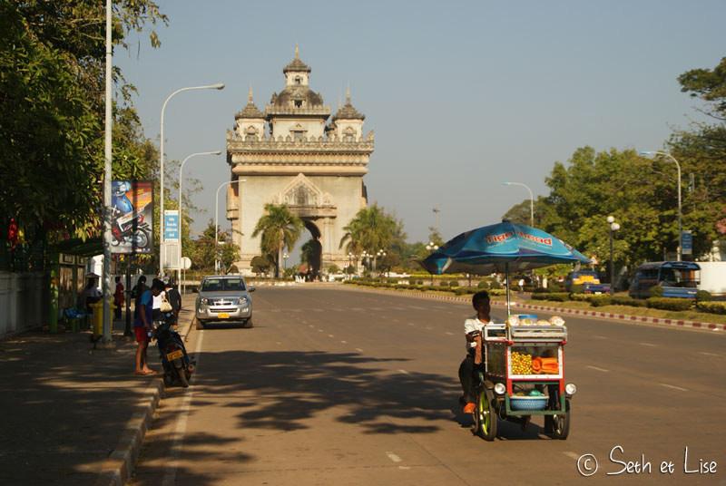 Découverte de Vientiane, au bord du Mekong