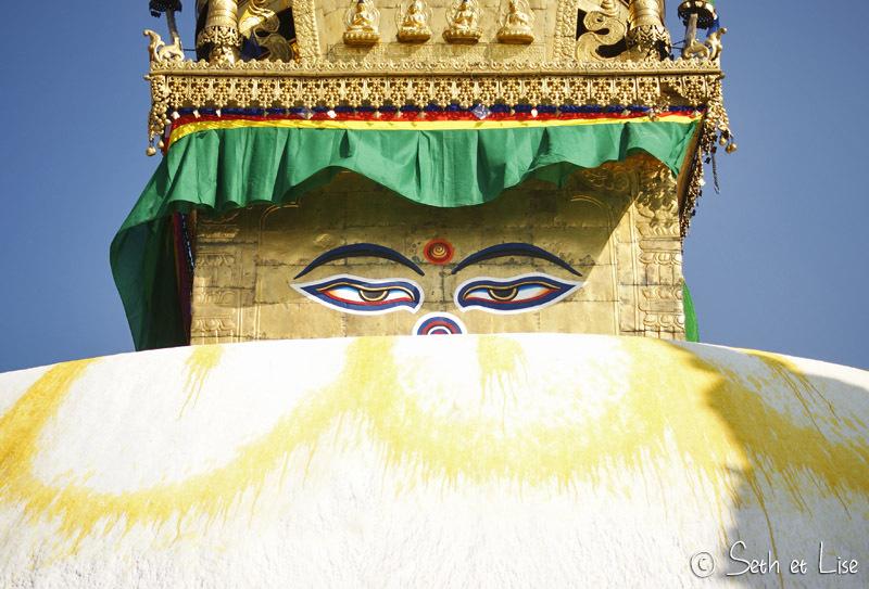 Swayambhunath - Le temple des singes de Katmandou