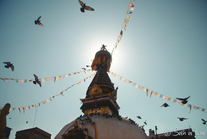 blog voyage nepal tour du monde durbar square katmandou temple stupa