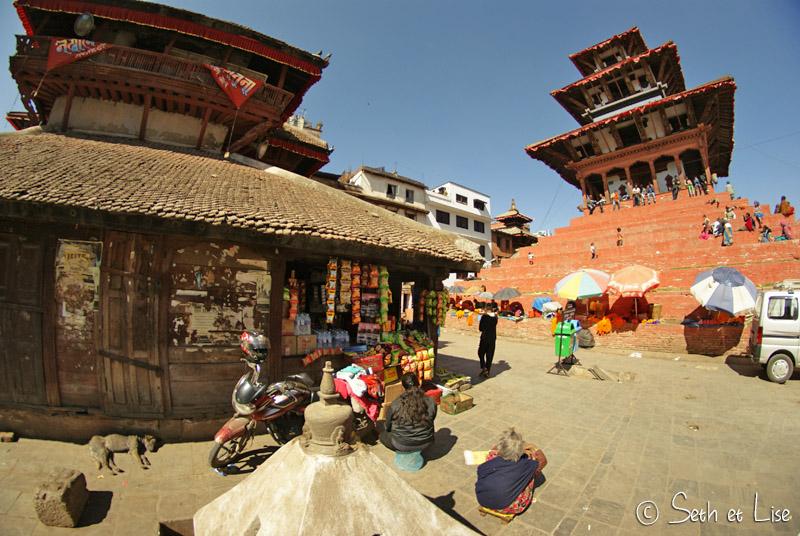 blog voyage nepal tour du monde durbar square katmandou