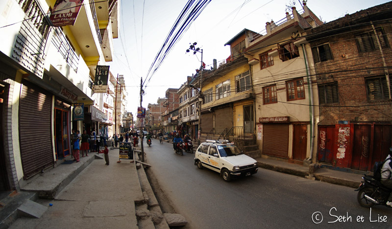 blog voyage tour du monde nepal katmandou rue