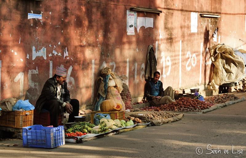 blog voyage tour du monde nepal katmandou marche rue